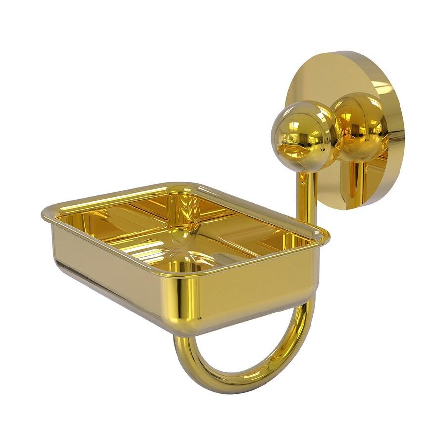 Allied Brass Prestige Skyline Polished Brass Brass Soap Dish