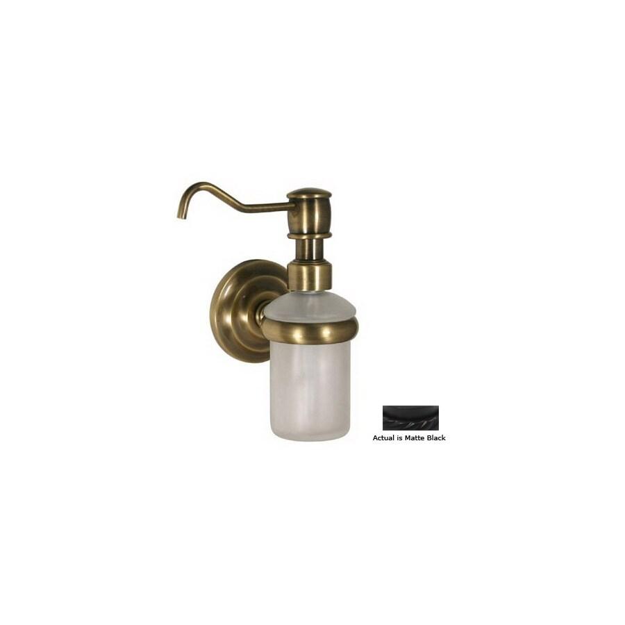 Allied Brass Black Soap Dispenser
