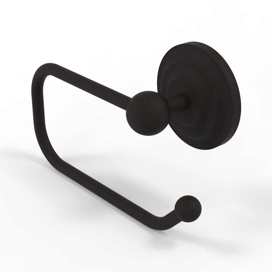 Allied Brass Que-New Oil-Rubbed Bronze Surface Mount Toilet Paper Holder