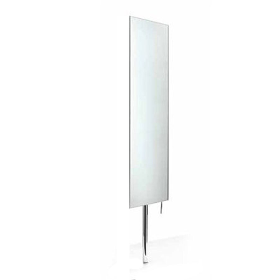 WS Bath Collections 39-3/8-in H x 11-in W Linea Stainless Steel Rectangular Bath Mirror