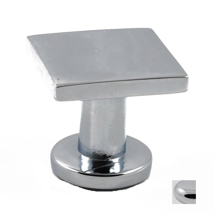 Residential Essentials Residential Essentials Polished Chrome Square Cabinet Knob