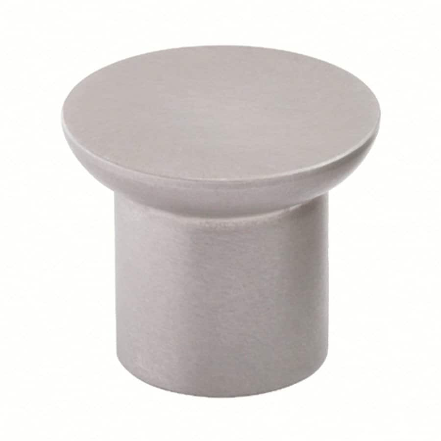 Siro Designs Stainless Steel Fine Brushed Steel Round Cabinet Knob