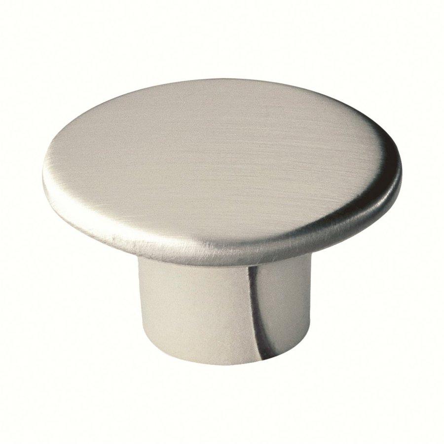 Siro Designs Reno Fine Brushed Nickel Round Cabinet Knob