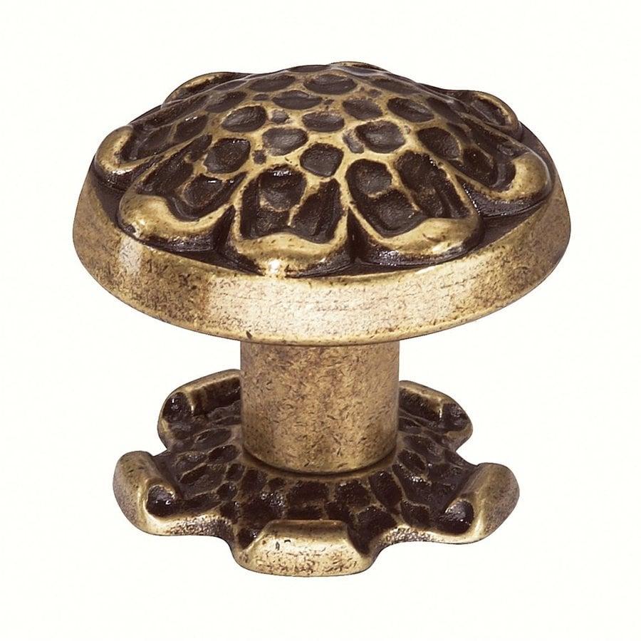 Siro Designs Evangeline Antique Brass Novelty Cabinet Knob