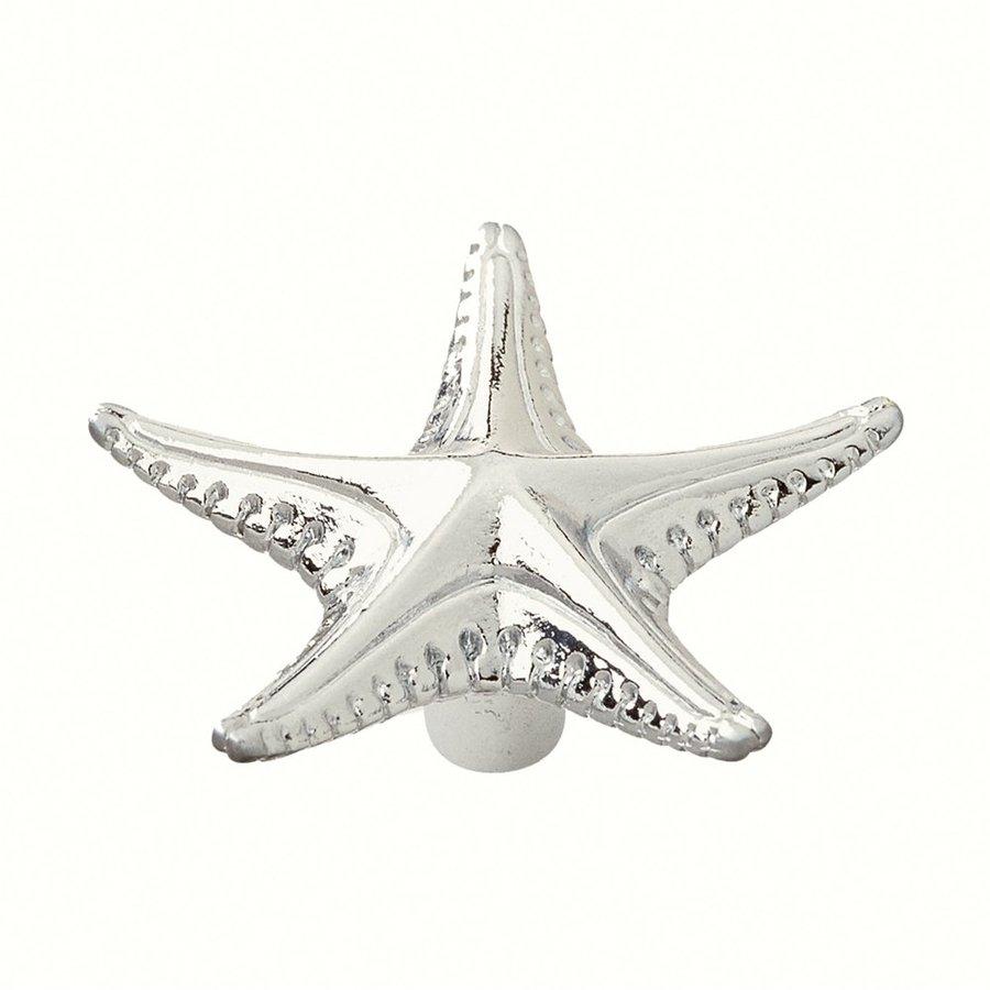 Siro Designs Ocean Line Bright Chrome Novelty Cabinet Knob