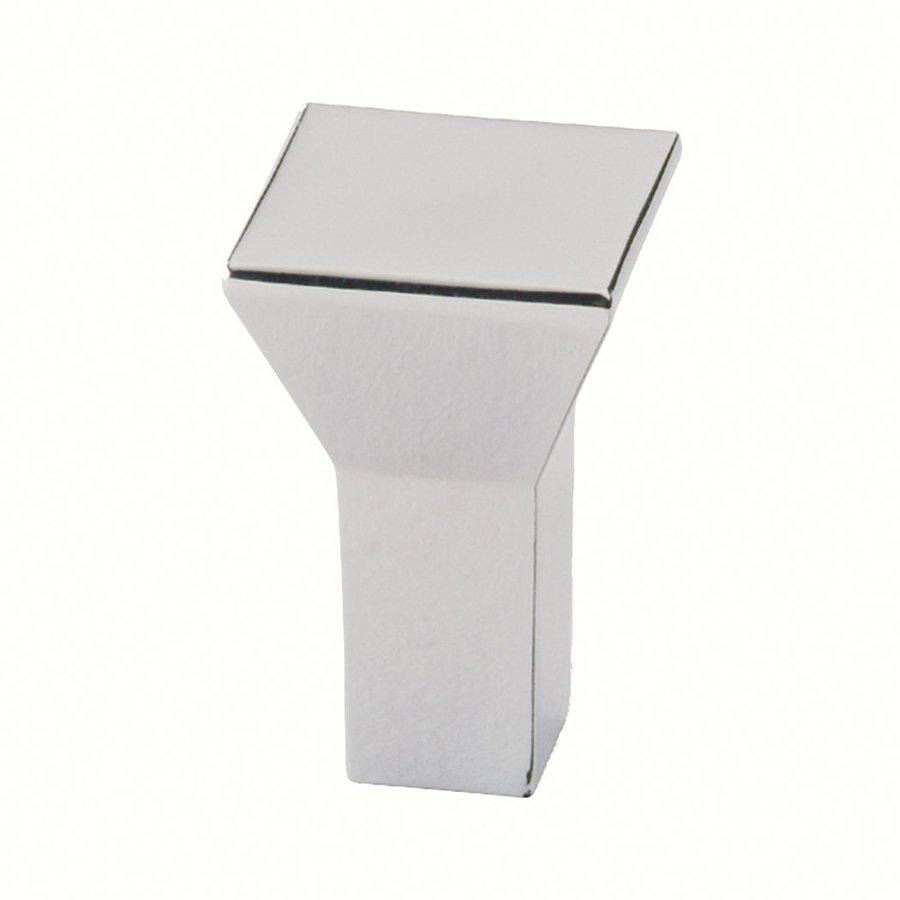 Siro Designs Eos Bright Chrome Square Cabinet Knob