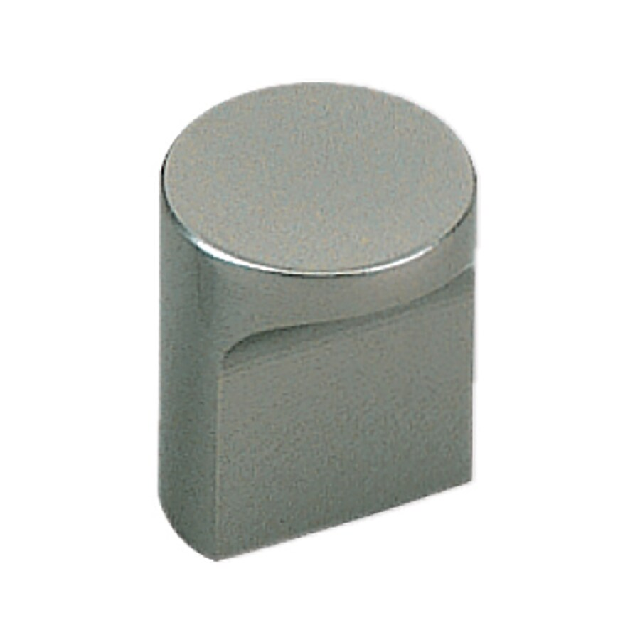 Sugatsune Modern Brass Satin Nickel Novelty Cabinet Knob