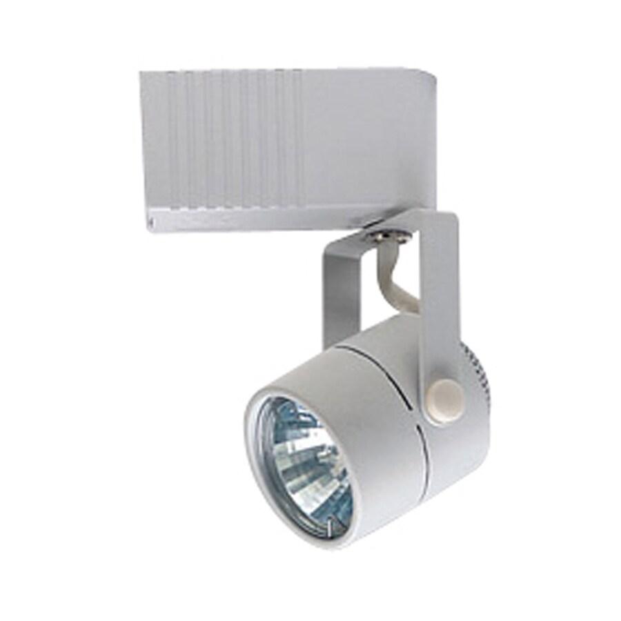PLC Lighting Slick 1-Light Dimmable White Flat Back Linear Track Lighting Head
