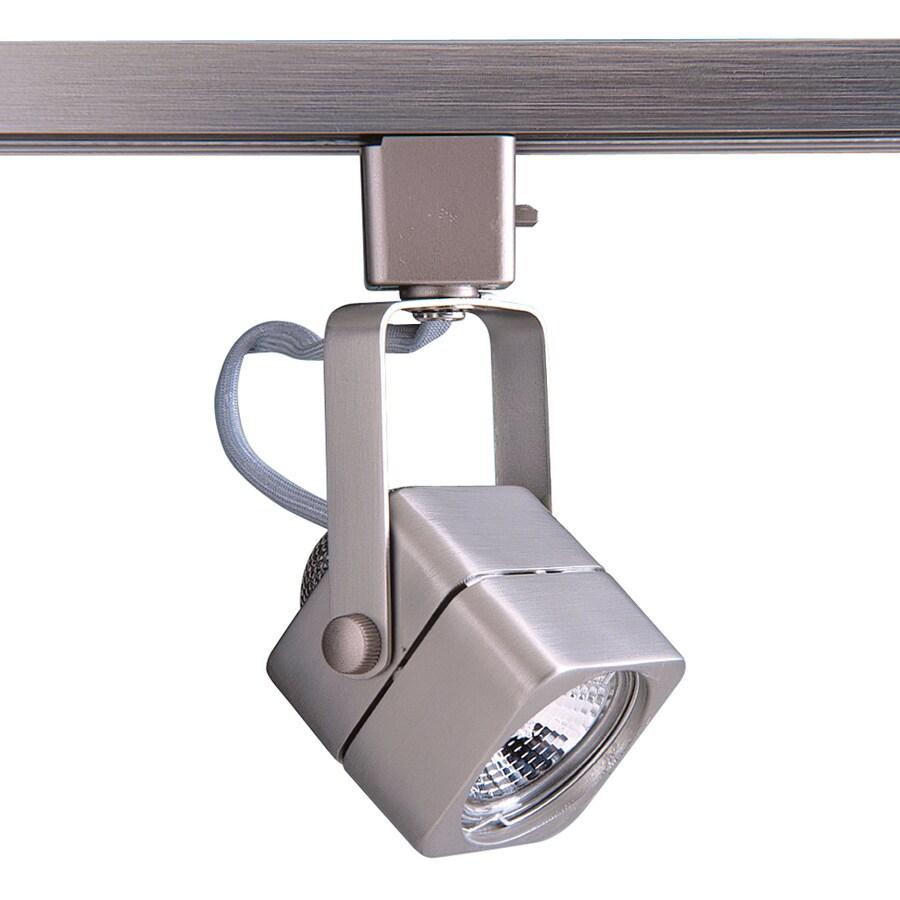 Kendal Lighting 1-Light Dimmable Brushed Steel Pinhole Linear Track Lighting Head