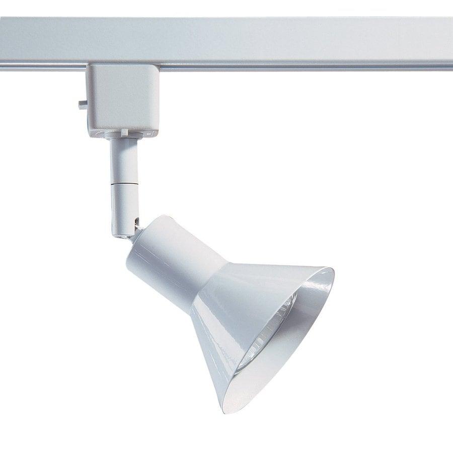 Kendal Lighting 1-Light Dimmable White Step Linear Track Lighting Head