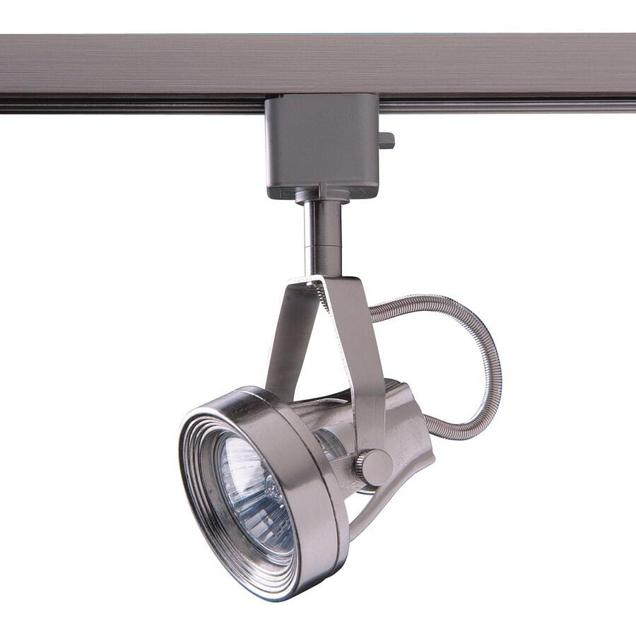 Kendal Lighting 1-Light Dimmable Satin Nickel Step Linear Track Lighting Head