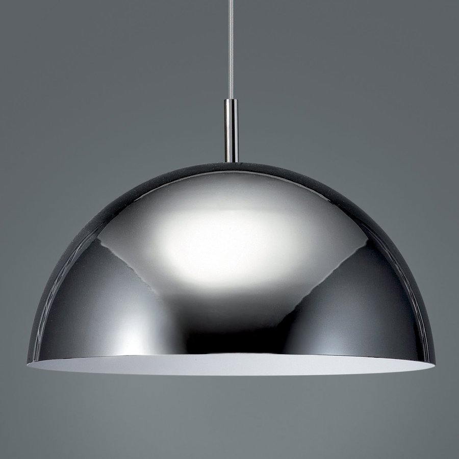Philips Roomstylers 15.7-in Chrome Industrial Dome Pendant
