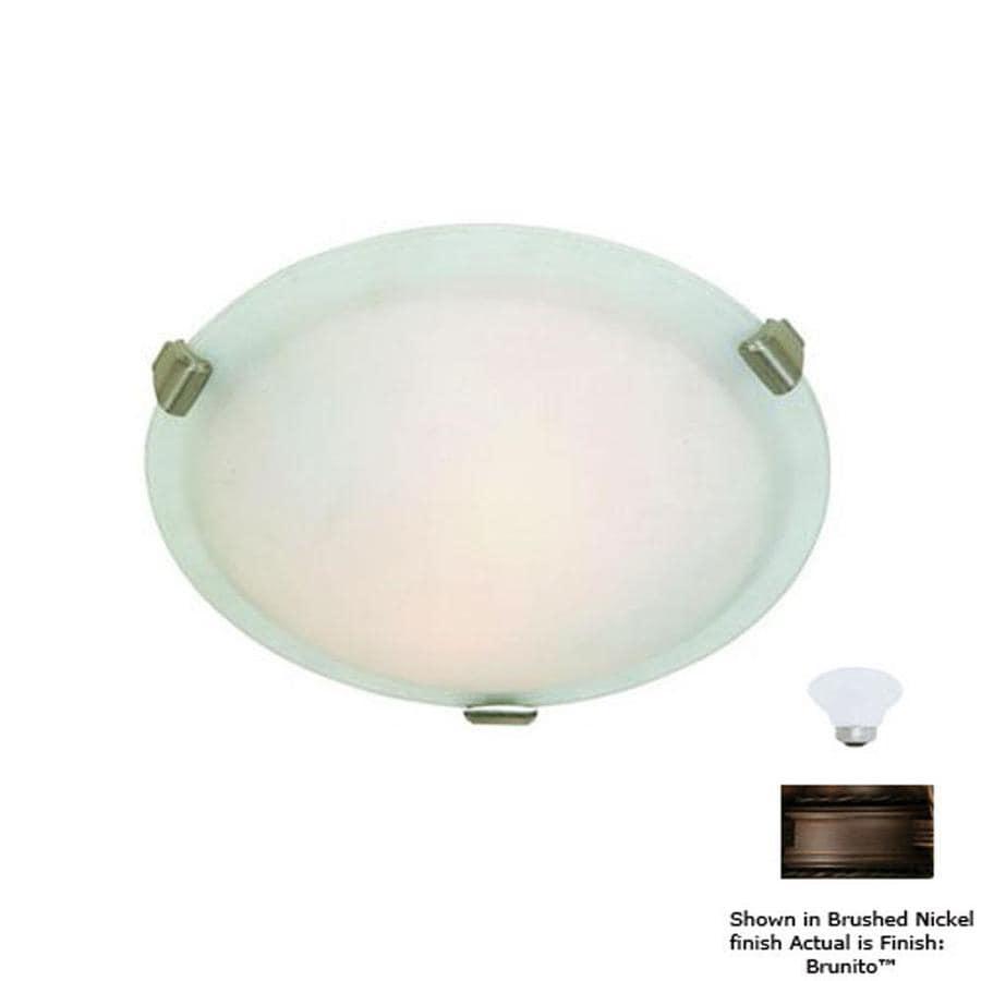 Artcraft Lighting 16-in W Brunito Ceiling Flush Mount Light