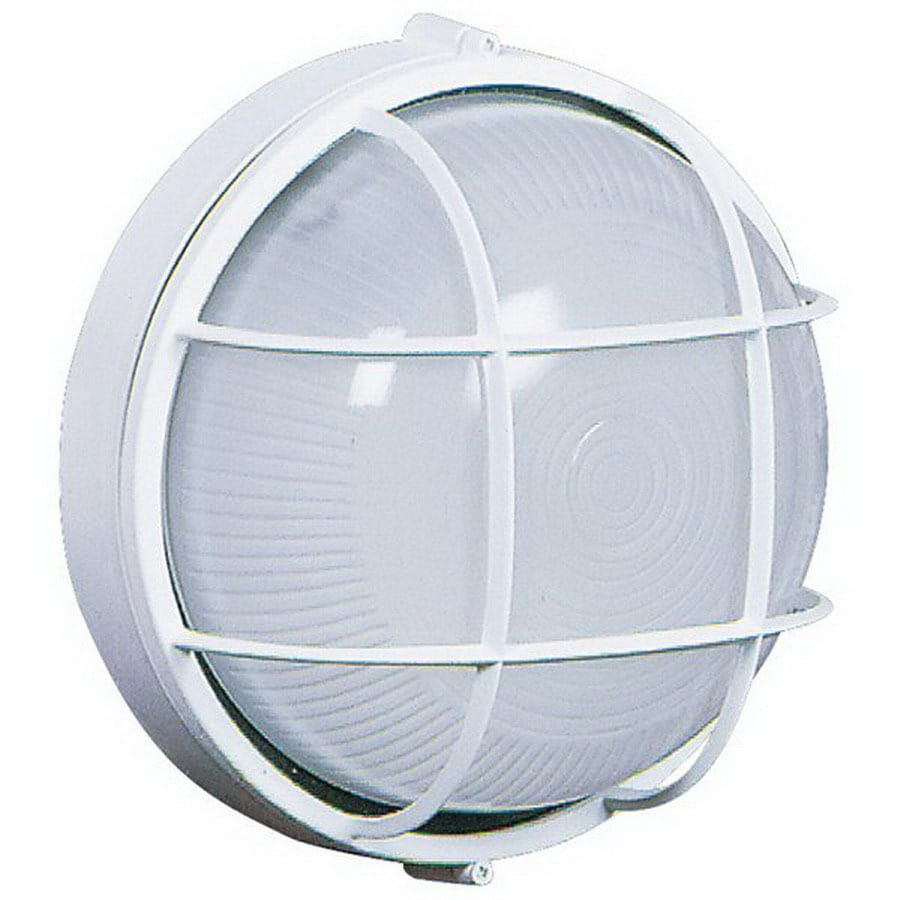 Artcraft Lighting Marine 10-in White Outdoor Wall Light