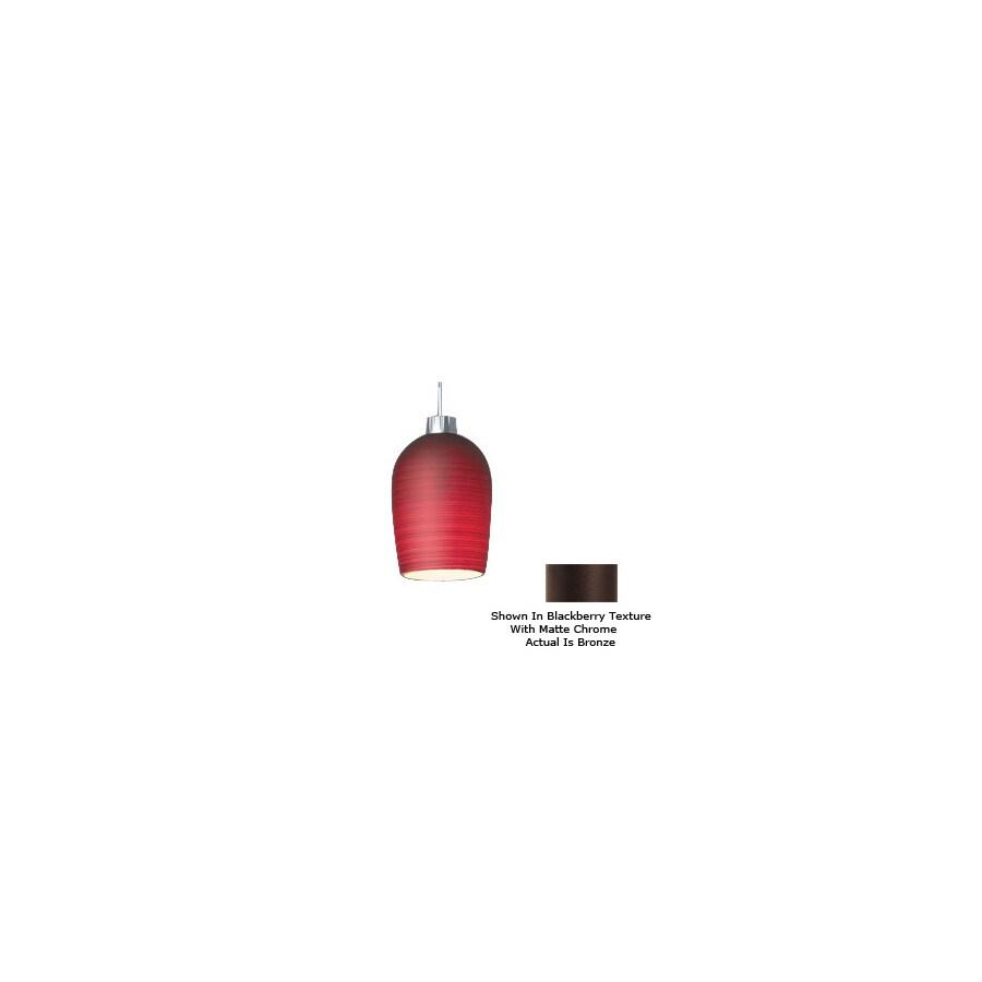 Bruck Lighting Systems Bronze Bell Linear Track Lighting Pendant