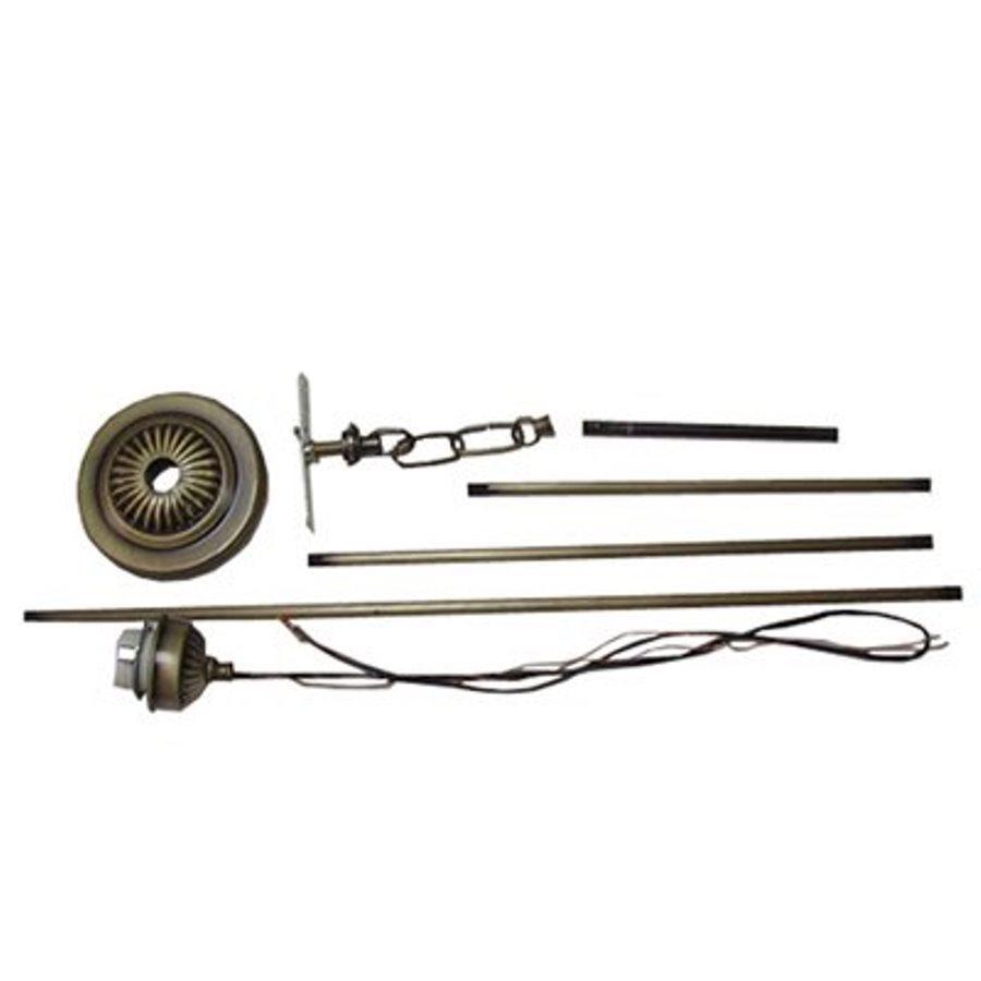 shop meyda tiffany 65 in hanging light mounting kit at