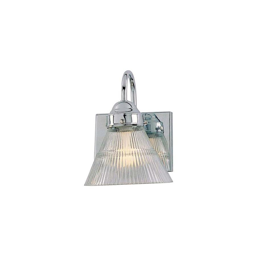 Volume International 6-in W 1-Light Chrome Arm Hardwired Wall Sconce