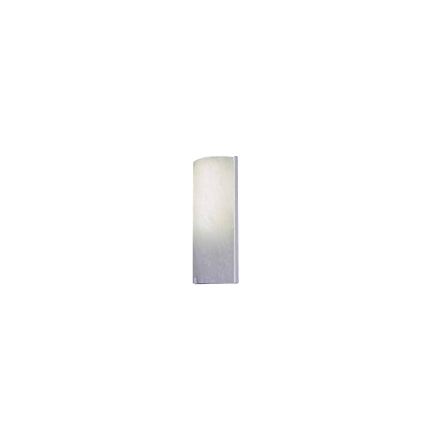Volume International 4.75-in W 2-Light White Pocket Hardwired Wall Sconce