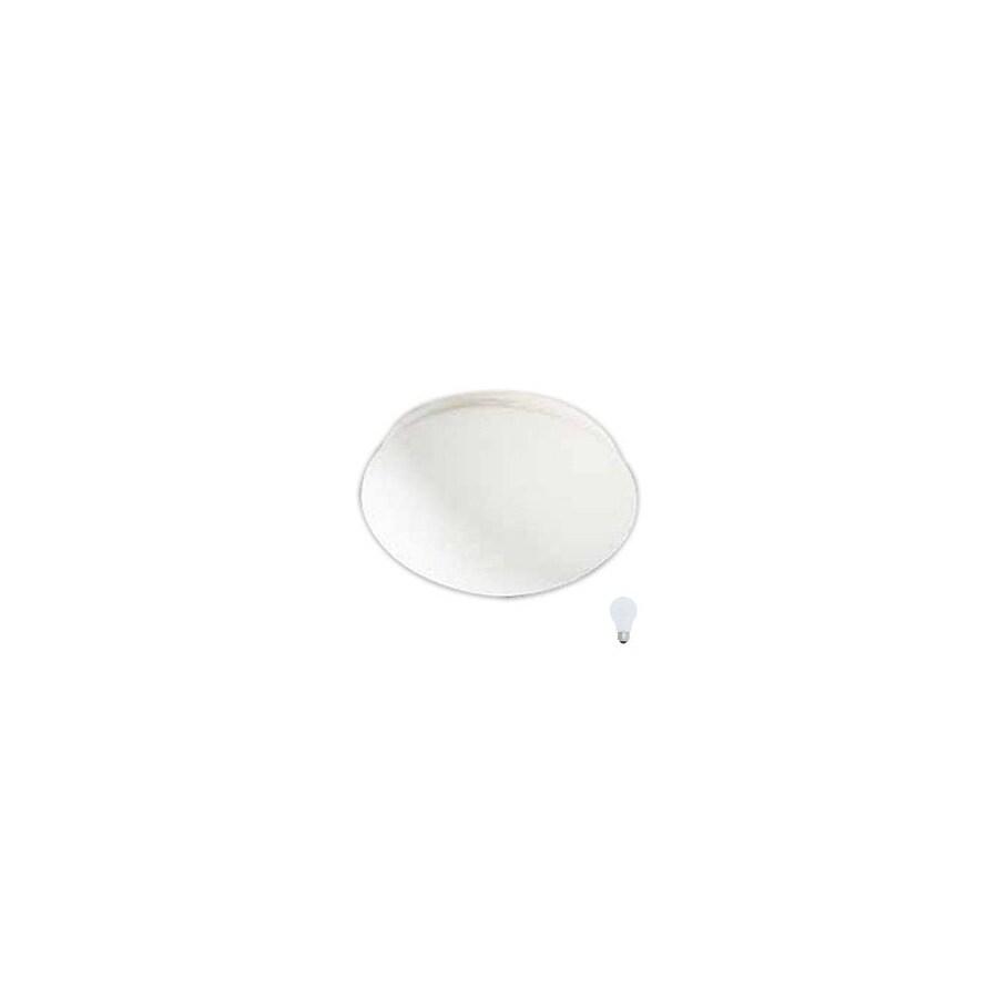 Volume International 8.75-in W White Ceiling Flush Mount