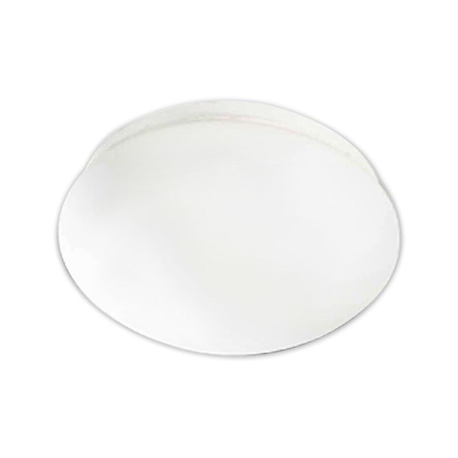 Volume International 12.5-in W White Ceiling Flush Mount Light