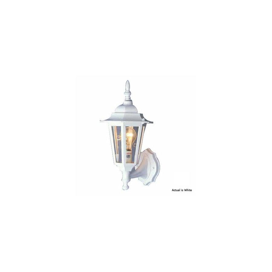 Volume International 15-1/2-in White Outdoor Wall Light