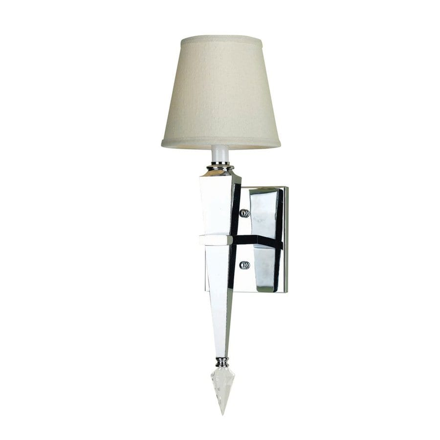 Candice Olson by AF Lighting Margo 6-in W 1-Light Ivory Arm Hardwired Wall Sconce