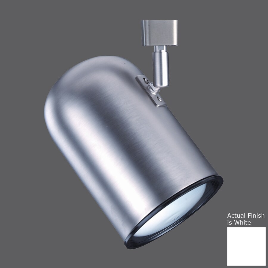 Nicor Lighting 1-Light Dimmable White Roundback Linear Track Lighting Head