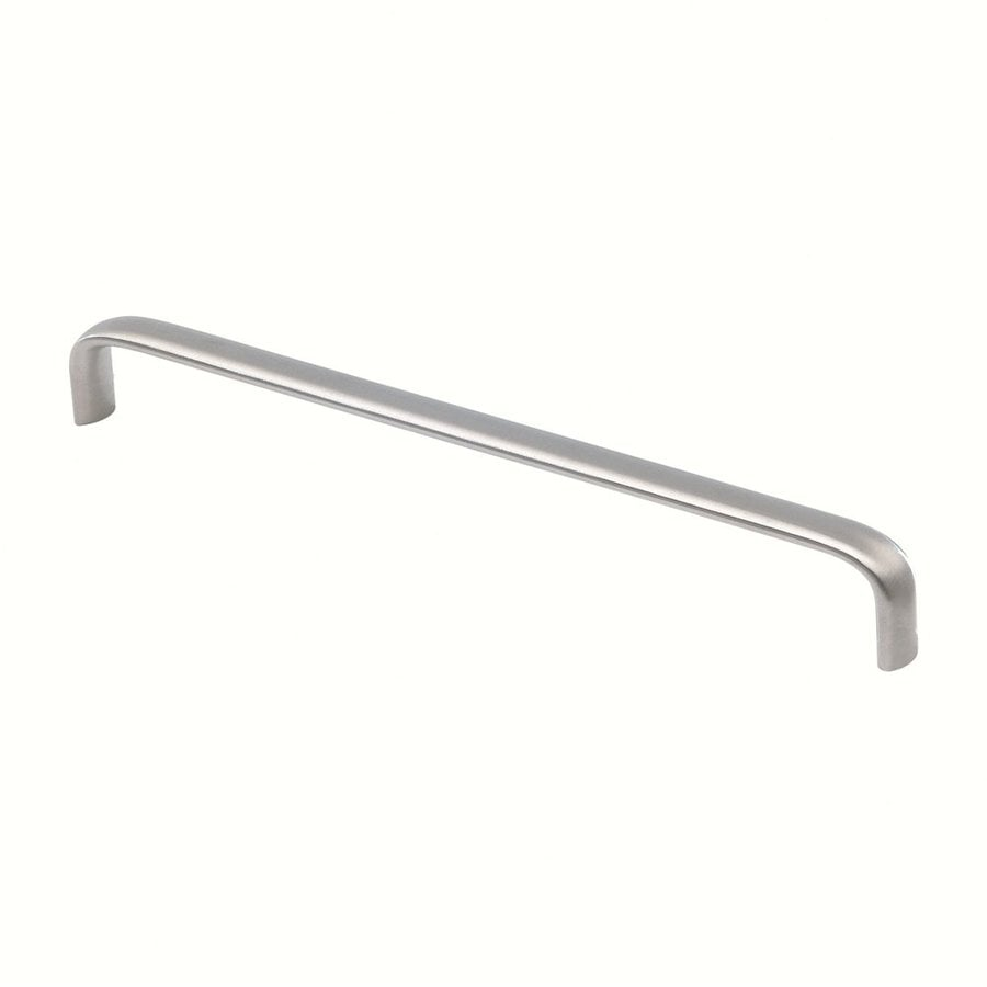 Siro Designs Fine-Brushed Stainless-Steel Rectangular Cabinet Pull