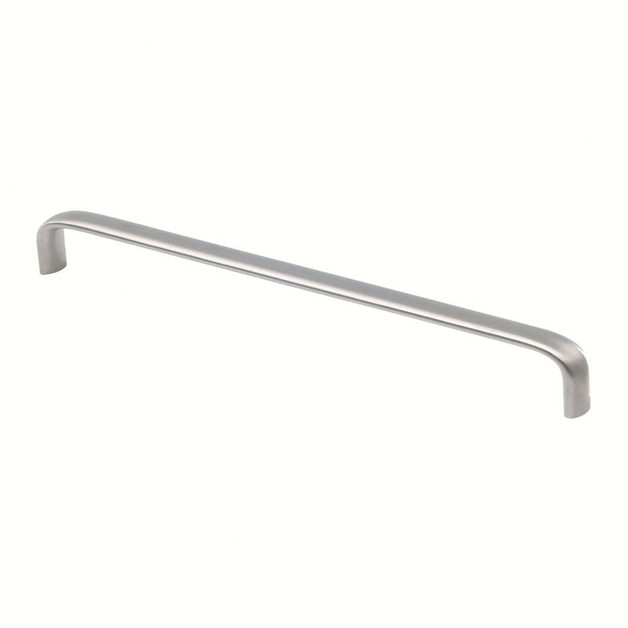 Siro Designs 448Mm Center-To-Center Fine-Brushed Stainless-Steel Rectangular Cabinet Pull