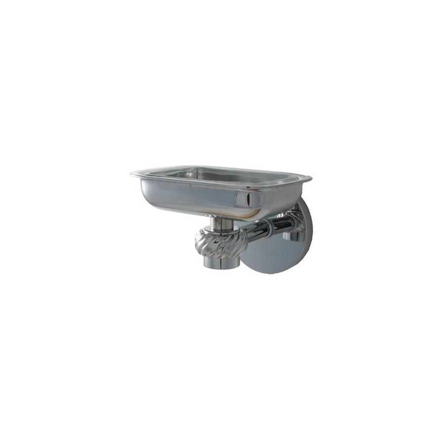 Allied Brass Satellite Orbit One Polished Chrome Brass Soap Dish