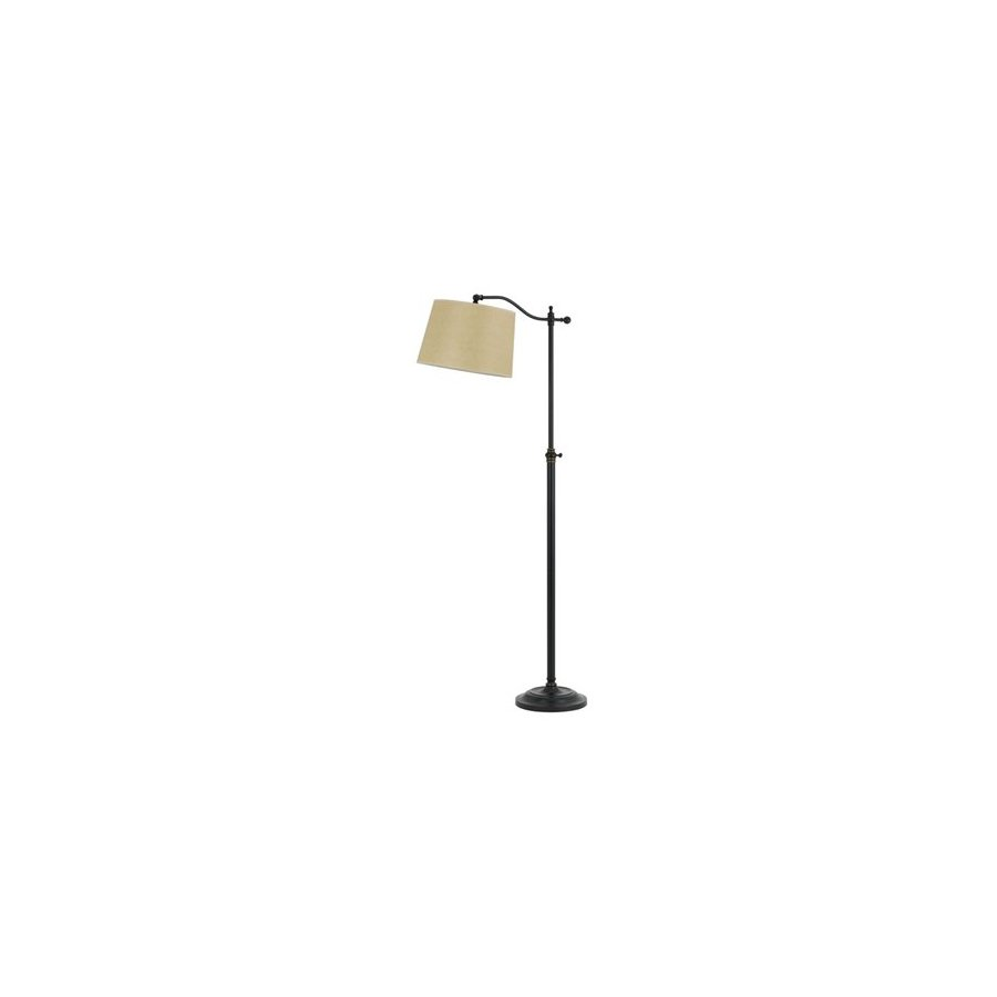 Cal Lighting Wilmington 62.5-in Dark Bronze Indoor Floor Lamp with Shade