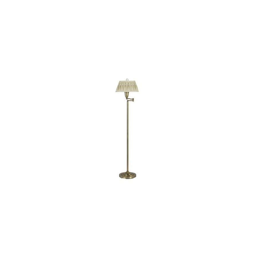 Cal Lighting 62-in Antique Bronze Floor Lamp