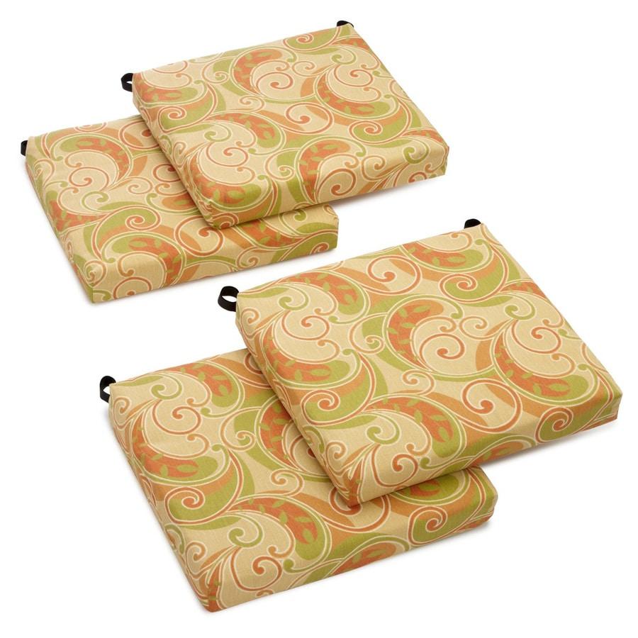 Blazing Needles Barclay Terrace Honey Paisley Cushion For Universal