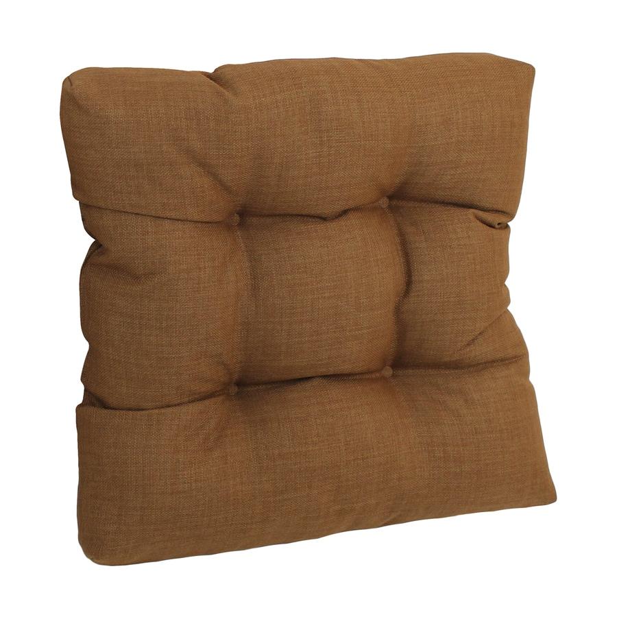 Blazing Needles Mocha Solid Cushion For Universal