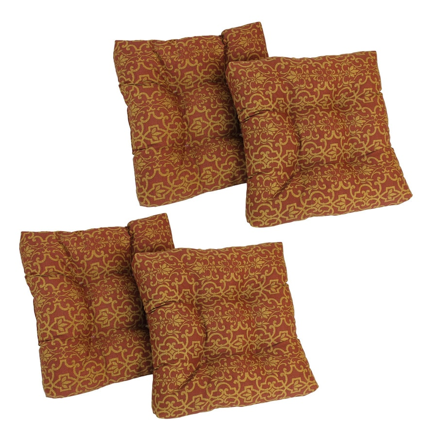 Blazing Needles Vanya Paprika Damask Cushion For Universal