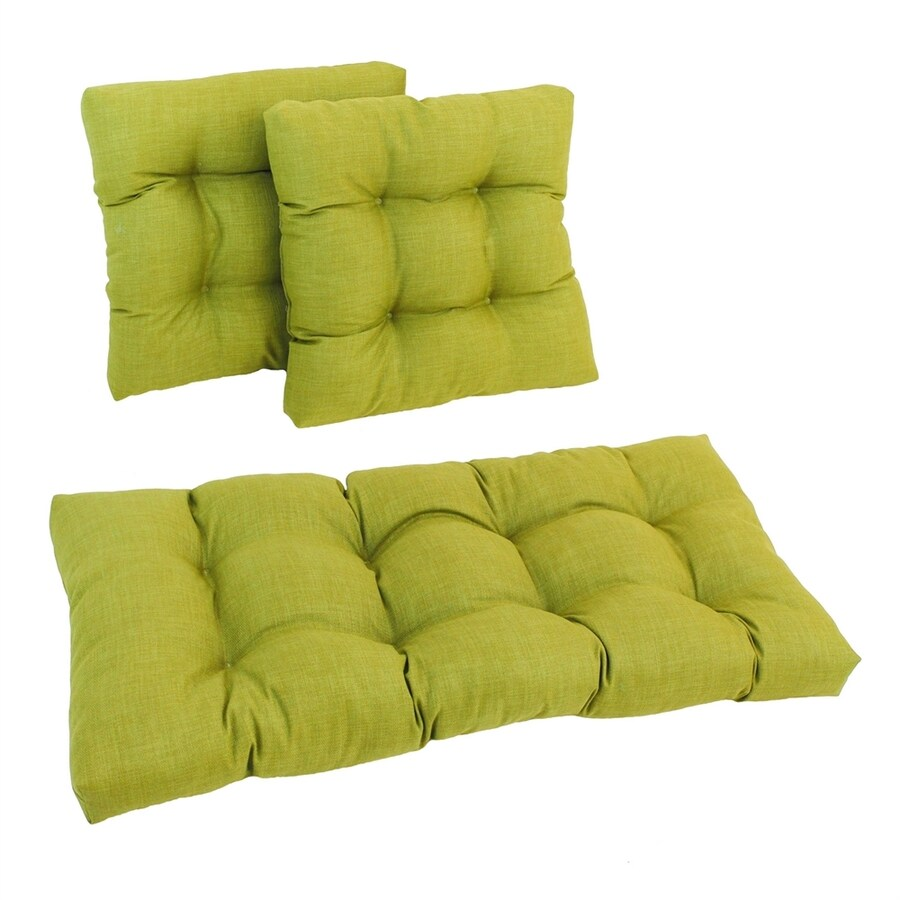 Blazing Needles Lime Solid Cushion For Universal