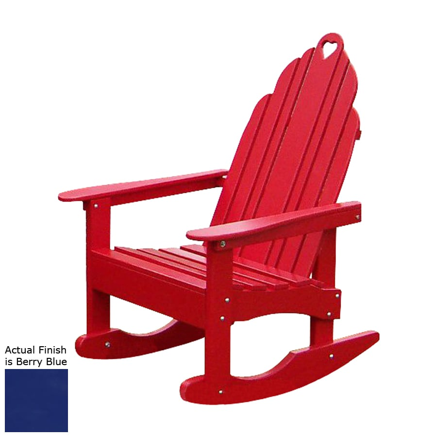 design grandparents berry blue patio adirondack chair at