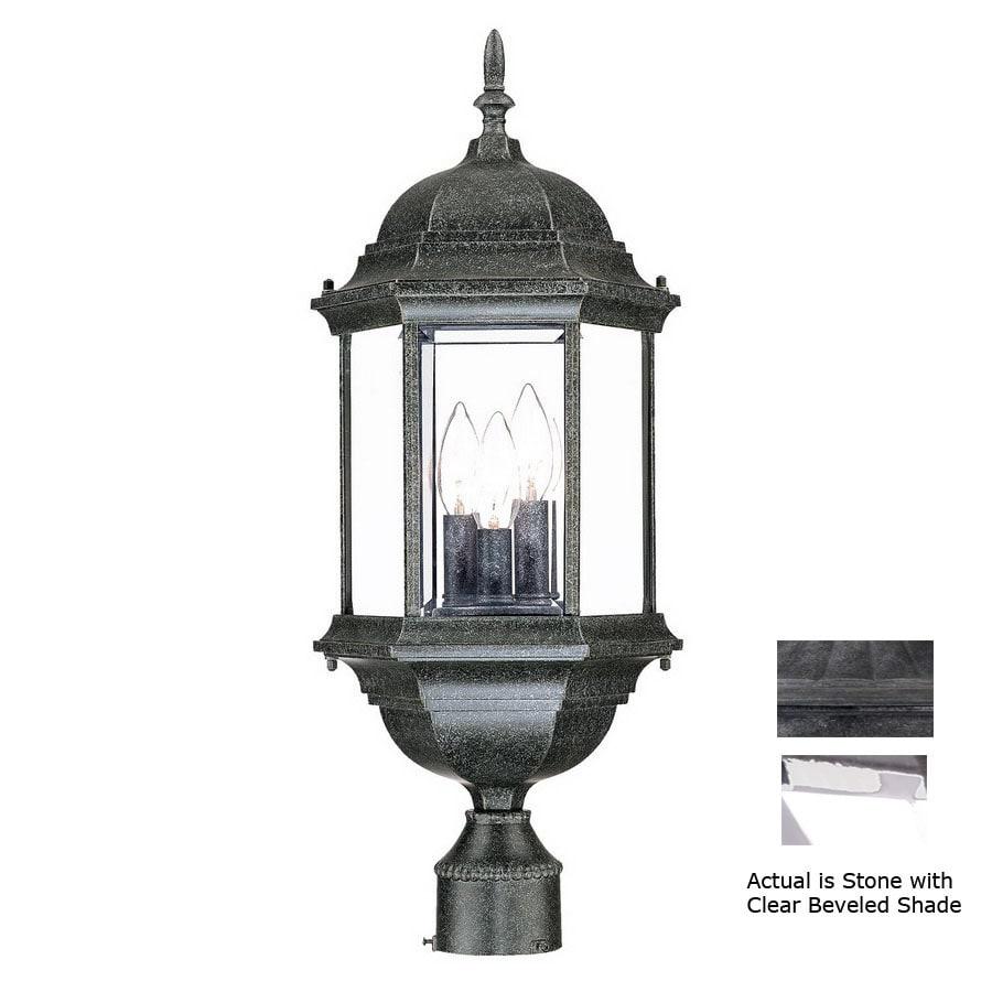 Acclaim Lighting Madison 25-in Stone Pier Mount Light