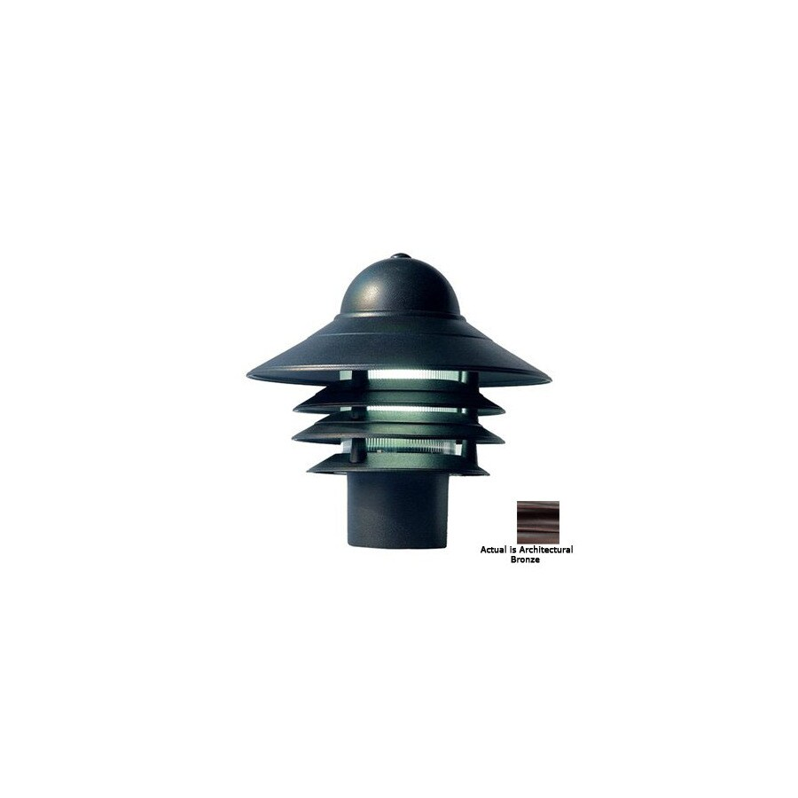 Acclaim Lighting Mariner 10-in Architectural Bronze Pier Mount Light