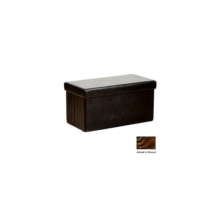 Warehouse of Tiffany Kirstina Brown Rectangular Ottoman