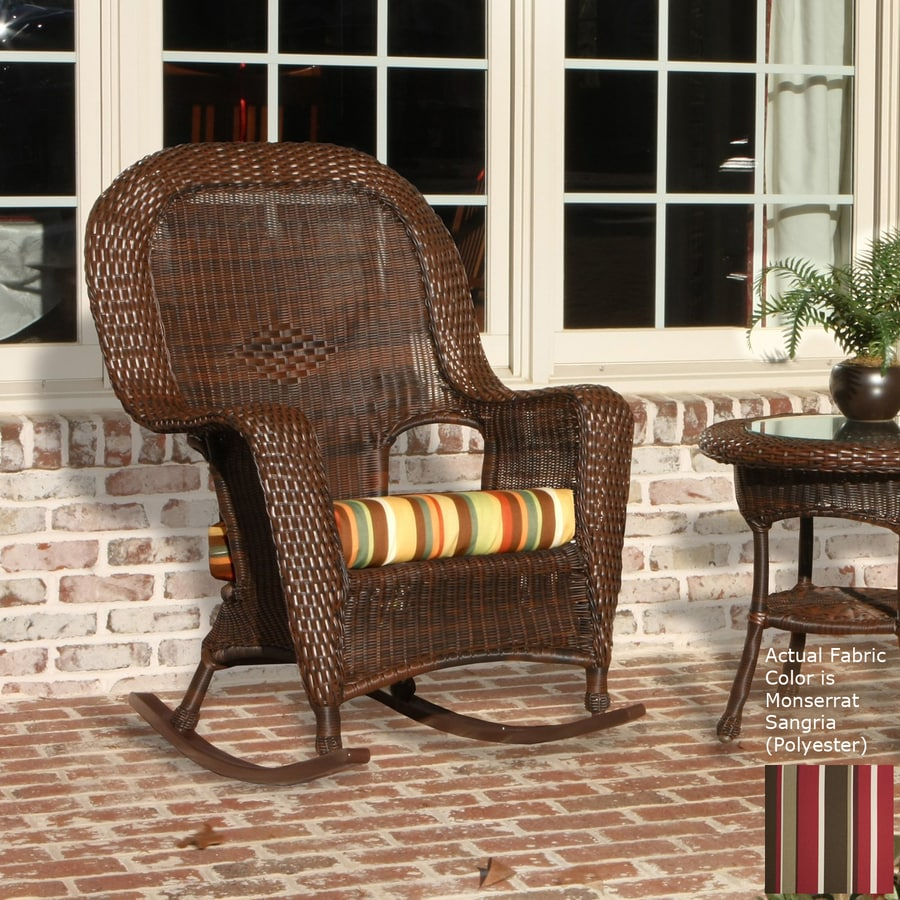Shop Tortuga Outdoor Lexington Tortoise Wicker Rocking