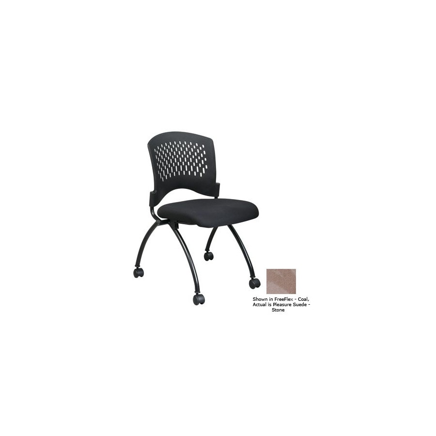 Office Star Set of 2 Proline II Pleasure Suede StTask Folding Office Chairs