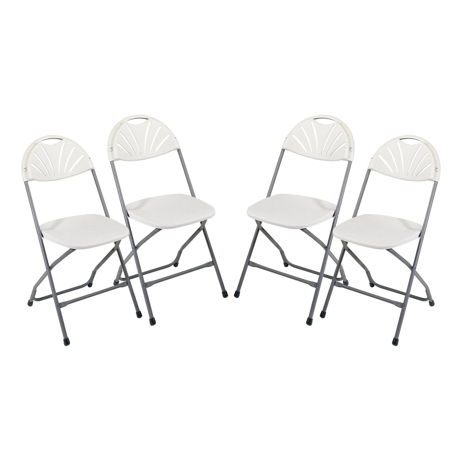 Office Star Set of 4 Indoor/Outdoor Standard Folding Chair
