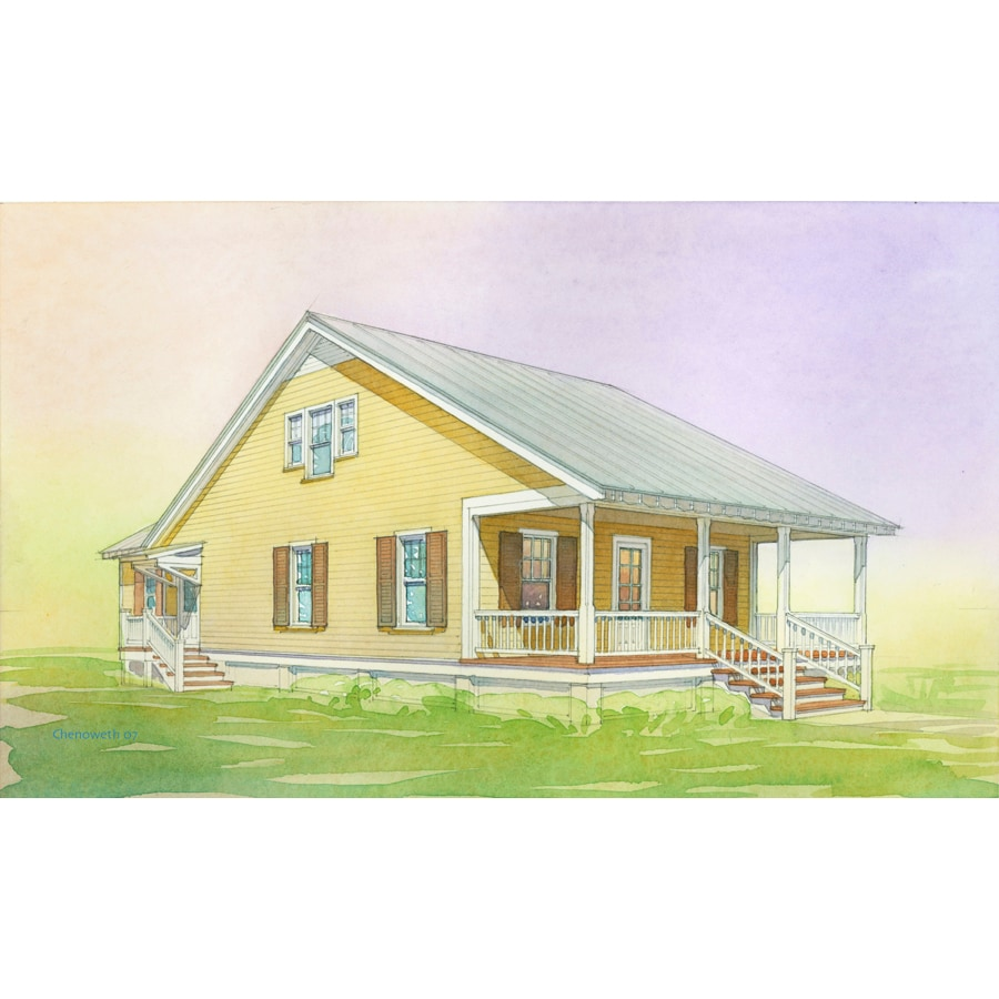 Shop Lowe 39 S Katrina Cottage Kc 1807 Plan Kc 910 Extended