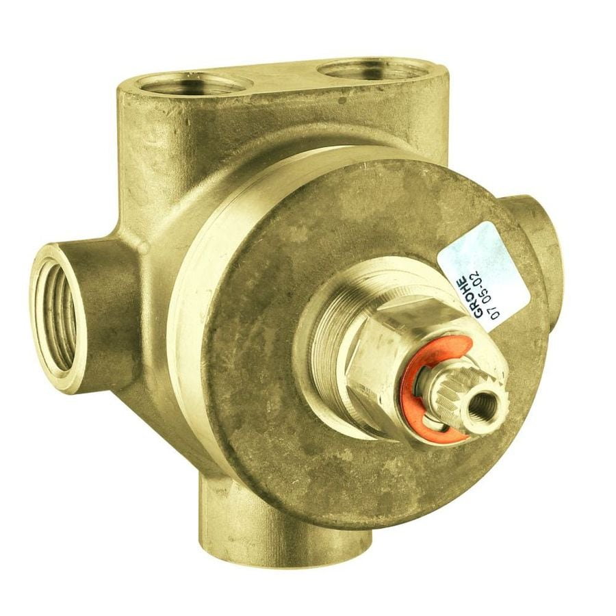GROHE 1/2-in Brass Female In-Line Rough-in Valve