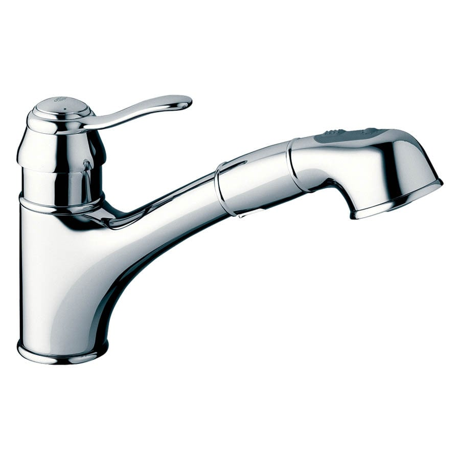 GROHE Ashford Chrome 1-Handle Pull-Out Kitchen Faucet