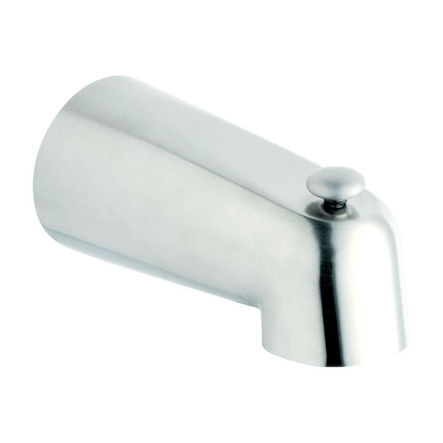 Shop GROHE Chrome Tub Spout With Diverter At