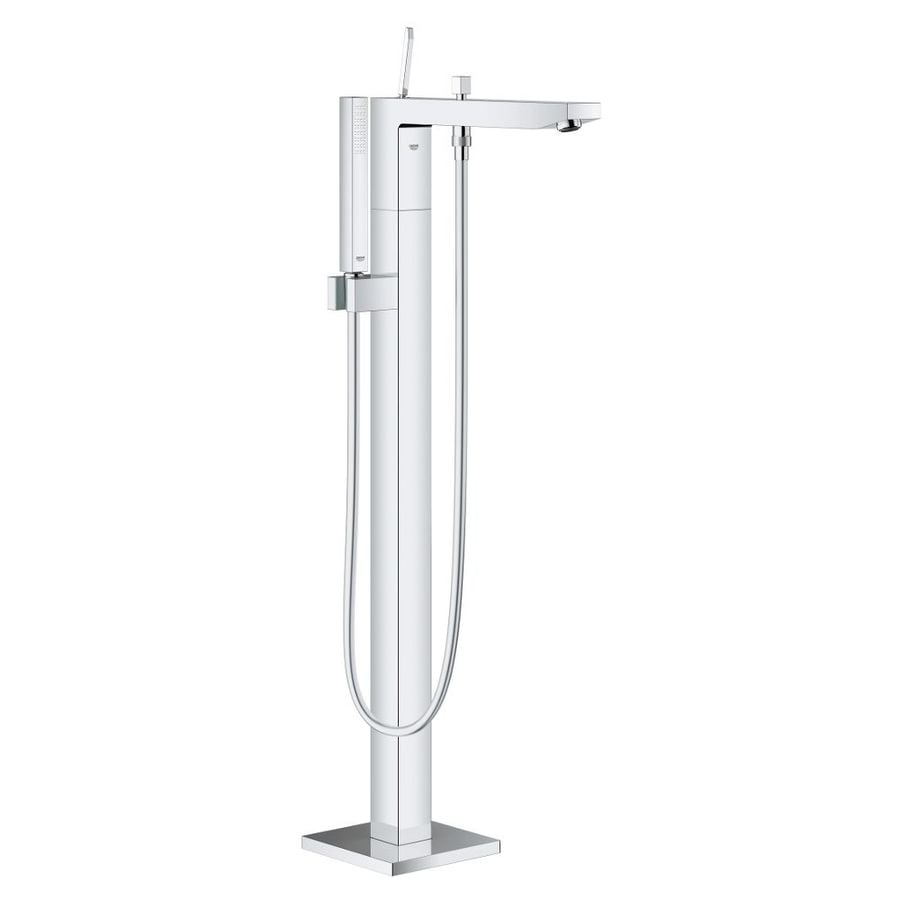 GROHE Eurocube Joy Chrome 1-Handle Fixed Freestanding Bathtub Faucet