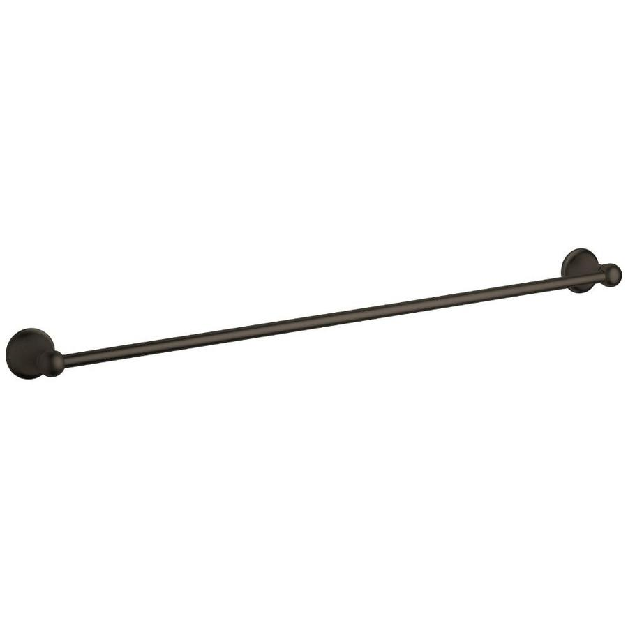 GROHE Seabury Oil-Rubbed Bronze Single Towel Bar (Common: 24-in; Actual: 26.3125-in)