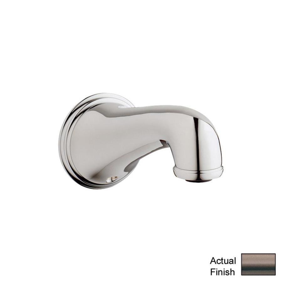 shop grohe bronze tub spout at